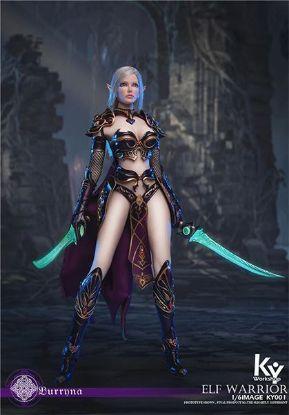 ACE Toyz Elf Female Soldier Burryna Black Standard Edition