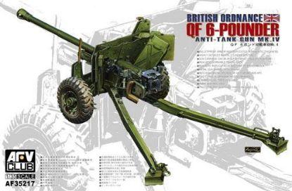 AFV 1/35 British MK.4 6PDR Anti-Tank Gun Model Kit