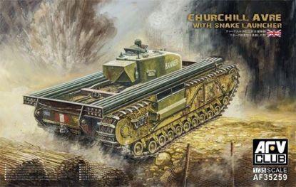 AFV 1/35 Churchill AVRE With Snake Launcher Model Kit