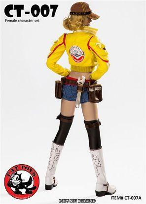 Cat Toys Handywoman Character Set Yellow
