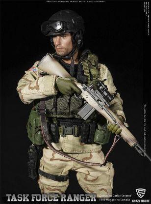 Crazy Figure 1/12 M14 Sniper Rangers Task Force 1993 Operation Gothic Snake