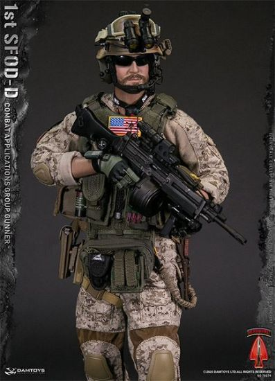 DAM Toys 1st SFOD-D Combat Applications Group Gunner