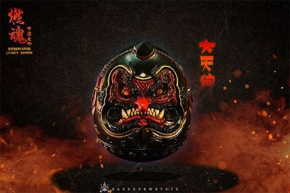 Dark Crown Toys Burning Souls Lucky Charm Tengu