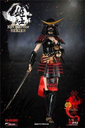 Fire Girl Toys Warring States of Japanese Women Warrior Suit Sanada Xu Kyi Black