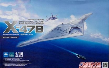 Freedom 1/48 X-47B UCAVUS Navy Modern Aircraft Model Kit