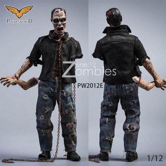 Pocket World 1/12 Zombies Version E