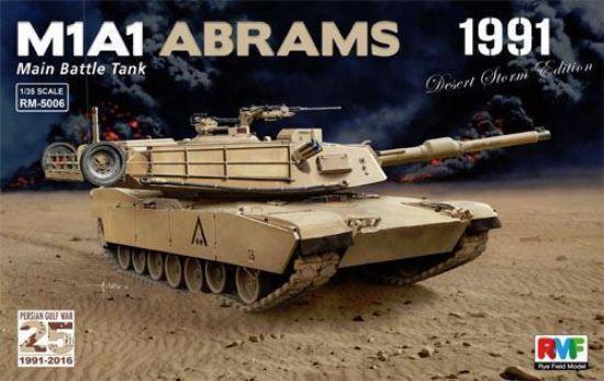Rye Field Models 1/35 M1A1 Abrams Gulf War 1991 Desert Storm Edition Model Kits