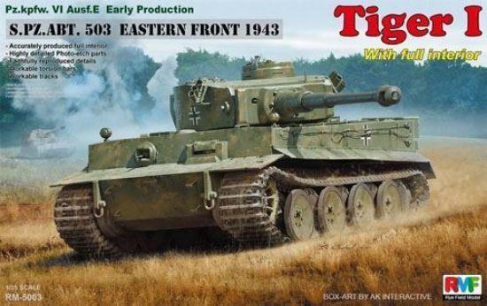 Rye Field Models 1/35 Tiger I S.pz.ABT.53 Eastern Front 1943 Model Kit
