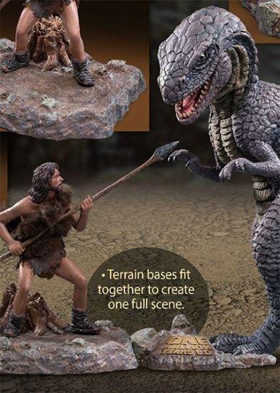 Star Ace Allosaurus & Tumak with 2 Dioramas