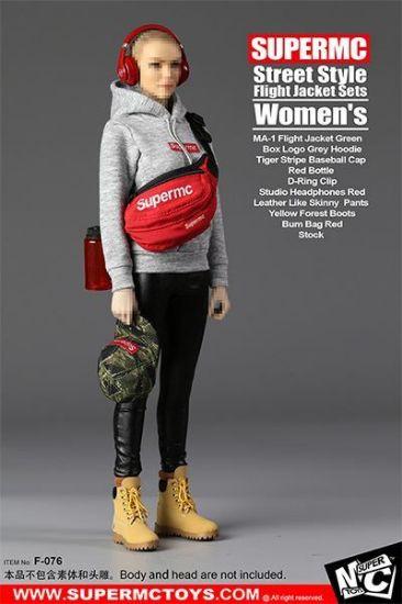 Super MC Toys Women's Street Style Flight Jacket Set
