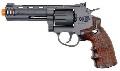 """Wingun 4"""" Revolver Co2 Revolver w/Nylon Rotary Drum & Barrel"""