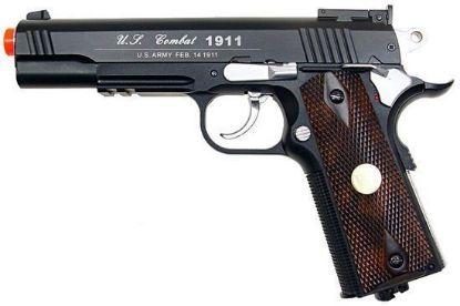 Wingun Combat 1911 Co2 Non-blowback Pistol Black