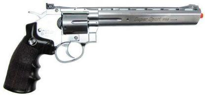 """Wingun Full Metal 8"""" CO2 Revolver Silver"""