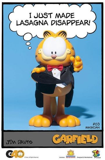 ZC World Garfield Master Series 03 Magician