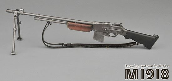 ZY Toys Browing Automatic Rifle 1/6 Scale