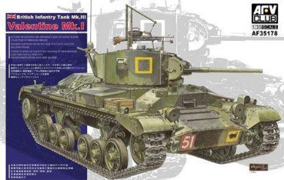 AFV 1/35 British MK.III Valentine MK.I Model Kit