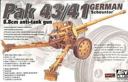 AFV 1/35 German 88mm PAK 43/41 Model Kit