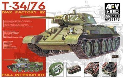 AFV 1/35 T-34/76 1942 Factory 112 Model Kit