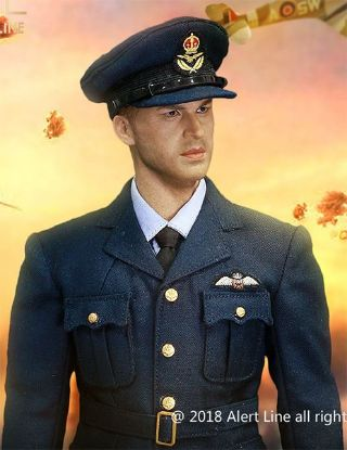 Alert Line WWII Royal Air Force Fighter Pilot