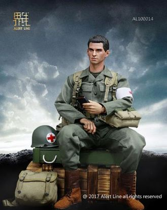 Alert Line WWII U.S. Army Military Surgeon