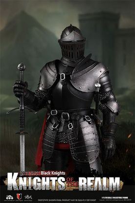 Coo Model Knights Of The Realm Black Knight
