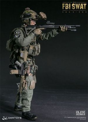 DAM Toys FBI Swat Team Agent San Diego 1/6 Scale