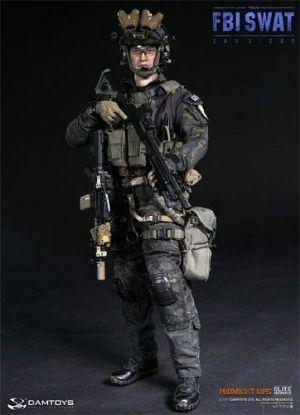 DAM Toys FBI Swat Team Agent San Diego Midnight OPS 1/6 Scale