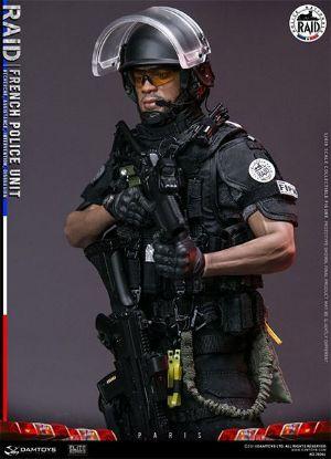 Dam Toys French Police Unit Raid In Paris