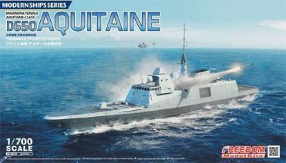 Freedom 1/700 D650 Aquitaine Frigate Marine National Model Kit