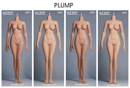 Hot Stuff 3rd Generation Female Plump Body Edation 1/6