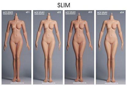 Hot Stuff 3rd Generation Female Slim Body Edation 1/6