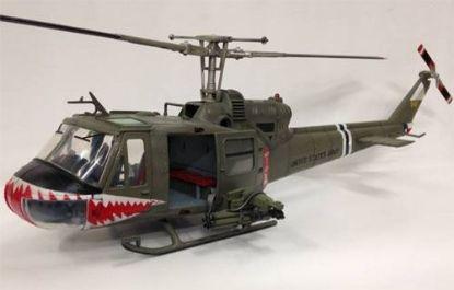 JSI 1/18 UH-1B Huey U.S. Army 174th Assault Helicopter Company Shark