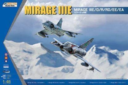 Kinetic 1/48 Mirage IIIE/O/R/RD Model Kit