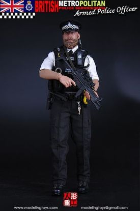 Modeling Military British Metropolitan Police Service Armed Police Officer 1/6 Scale