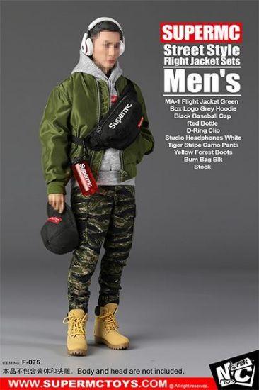 Super MC Toys Men's Street Style Flight Jacket Set