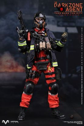 Virtual Toys The Darkzone Agent Renegade 1/6 Scale