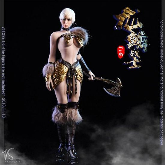 VS Toys Dragon Female Warrior Armor B Edition
