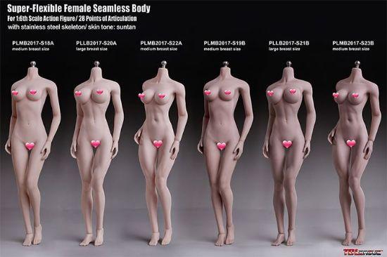 TBLeague Female Seamless Body S18A S19B S20A S21B S22A S23B