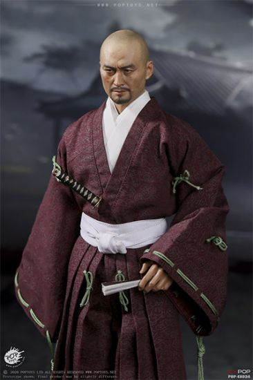 Pop Toys Benevolent Samurai Robes Version /1/6 Scale